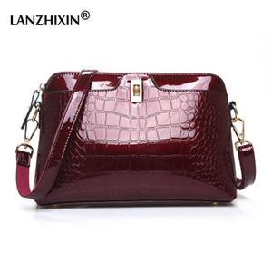 Borse Women Bag in pelle LANZHIXIN dell'unità di elaborazione borse a spalla progettista di signore di lusso di Crossbody del messaggero per le donne 2020