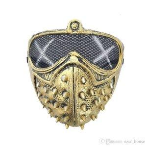 Remache punk de Halloween Cosplay Devil Máscaras Máscara de muerte Grim Reaper mascarada