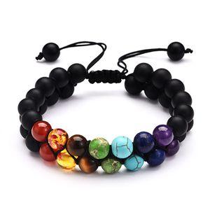 Natural Stone Bracelets Lava Volcanic Stone Turquoise Bracelet Wholesale Handmade Beads Bracelets for Men Women Jewelry