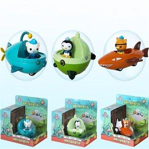 Octonauts Action Figure Oyuncaklar Octonauts Araba Kaptan Bebek Çocuk Noel Hediye Perakende Kutusu Ile LJ200924