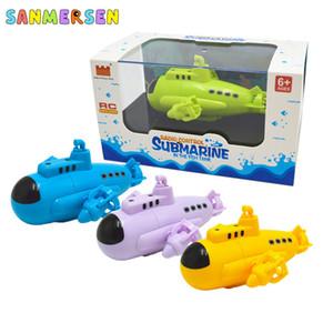 Mini RC Boat Radio Submarino Juguetes Control Racing Boat Barco eléctrico RC Alta velocidad Empresa impermeable para niños Regalo