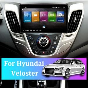 9 inç Araba Radyo GPS Navigator için Hyundai Veloster Android 10.0 Son Harita Sat Navcar FM Radyo Bluetooth Multimedya Oynatıcı