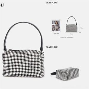 HVMWU Fall Luxus Damen Trapez Casual Tote mit Anmerkung 2 Designer Klassische echte Rindsleder Handtasche Schulter Bat Bag Handtasche Handgelenk