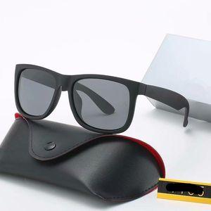 뜨거운 판매 선글라스 남자 여성 브랜드 디자이너 태양 안경 UV400 그라디언트 렌즈 스포츠 안경 케이스 및 상자