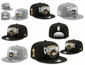 11 Los AngelesLakersErkekler Kadınlar Gençlik Cap New Era 2020 Finalleri Şampiyonlar Locker Room 9FIFTY Snapback Ayarlanabilir Basketbol Şapka Siyah