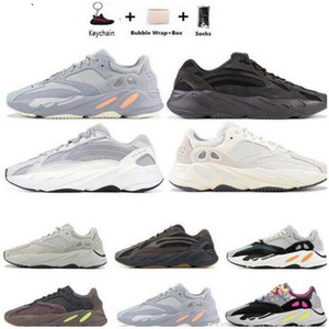 Tag di trasporto Vanta utilità nero inerzia Tephra 700 OG Kanye West in esecuzione Mens scarpe da donna analogico Salt Malva uomini scarpe da ginnastica