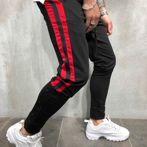 Mens Joggers Casual Pants Fitness Men Sportswear Tracksuit Bottoms Skinny Sweatpants Trousers Black Gyms Jogger Track Pants 201109