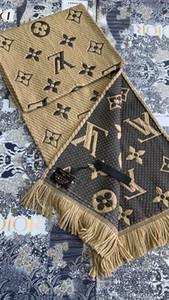 2020 Classic Moda Hombres Mujeres bufanda de lujo de algodón y cachemira bufandas de lana de cordero de calidad superior Écharpe de lujo Sciarpa di Lusso