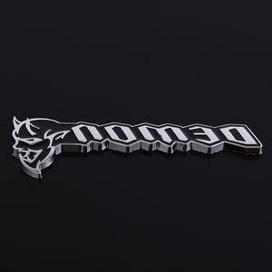 3D Metal Car Stickers Emblem Auto Badge Calcomanías para Dodge Challenger SRT Demon SRT8 RC Hellcat Cargador Caliber Grille Styling