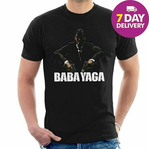 Baba Yaga John Wick Punk T-Shirt Schwarz Baumwolle in voller Größe Sport Hoodys Hoodie