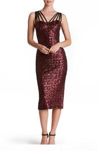 새로운 패션 섹시한 스팽글 파티 드레스 여성 숙녀 구슬 멀티 로프 민소매 긴 저녁 Bodycon Prom 드레스 여름 플러스 사이즈 S-2XL Dresse