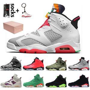nike air jordan 6 jordan retro 6 travis scott 6 6s 2020 con los zapatos de la caja de Jumpman de calidad superior Hare 6 de baloncesto del Mens DMP las zapatillas de deporte