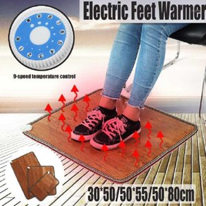 Electric Heating Pad Thermal Foot Feet Warmer Heated Floor Carpet Mat Pad Blanket Home Office Warm Feet Heater1