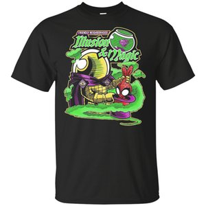 Mysterio e Spider Man T-shirt Spider Man Far From Home Tee Shirt S-5XL marchio di abbigliamento sportivo Tee Shirt Felpa con cappuccio Felpa con cappuccio