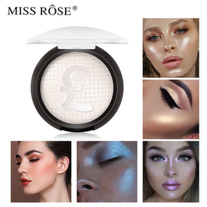 Brand MISS ROSE Europe Makeup Highlighter Facial Palette 5 Colors Glow Face Contour Bronzer Powder lasting Cosmetic 0242