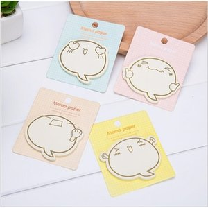 hot sale kawaii stationery memo pads cute cartoons sticky note office scrapbook agenda stickers 8*9 cm