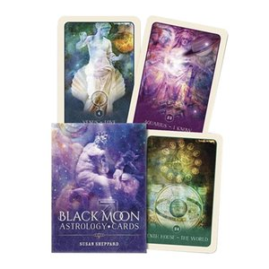 Tarot Dropship Astrology Party Funny Board Moon For Cards Table 52 Tarot Families Black Cards Cards English Deck Games Games yxlKIN xhhair