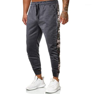 Chrleisure Erkekler Pantolon Rahat Spor Elastik Bel Nefes Sweatpants Erkekler Spor Joggers Pantolon1
