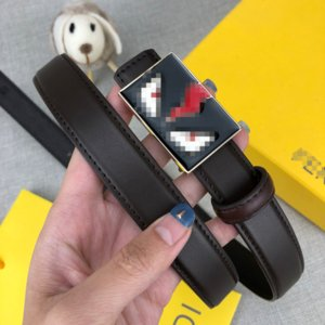 Hot Selling Young People Leather Belt Cowhide Casual Belt Width 24mm Luxury Fashion Belt, With Box 2082804B