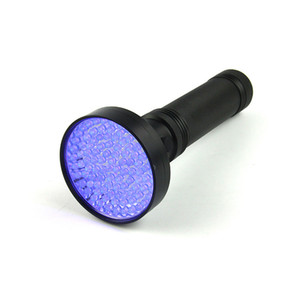 100 led uv flashlights torches violet purple light torch For Home Hotel Inspection Pet Urine Stains