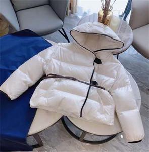 Women Designer Parkas Top Quality Women Coat with Single Breasted&Belt Women Winter Thick Mono Gram Floral Print Style Coat Size S M L