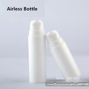 5ml 10ml 15ml White Empty Plastic High Quality Lotion Vacuum Bottle Cosmetic Emulsion Foundation Airless Pump Container