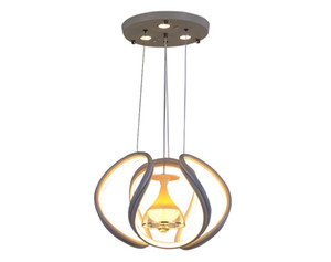 Modern simple six-color light led chandelier creative personality bedroom atmosphere light loft restaurant led dining pendant lamp RW466