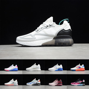 2020 AD 36-45 Originals ZX 2K BOOST WHITE Popcorn Slipper Sandal Designer Women Sneakers Platform Shoes Men Basketball Outdoor FW0480