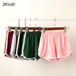 Fashion shorts women Solid Waist Black White Shorts Harajuku Elasticity Beach Sexy Short WomenS Clothing