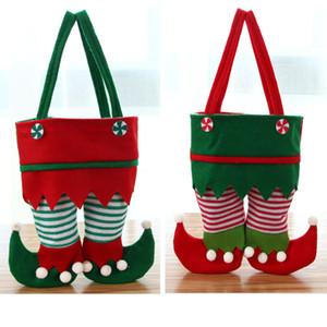 크리스마스 장식 크리스마스 요정 가방 새로운 캐디 백 산타 선물 가방 휴일 파티 무료 DHL 선박 HH9-3368 공급