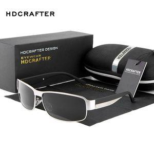 Солнцезащитные очки HDCRAFTER MAN Поляризованные Вождение Солнцезащитные Очки Для Мужчин УВ400 Защита Бренд Дизайн Солнцезащитные Очки Очки Oculos Masculino