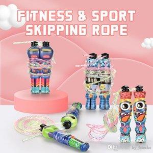 2.8m Sport Jump Rope Alien Form-buntes Springseil Adjustable Fitness Sport Exercise Cross Fit für Kind im Freien Spielzeug 01
