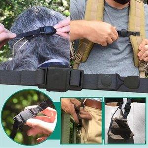 Botão magnético Elasticidade alça ajustável Non Máscara deslizamento Corda Prevent Ear Puxando Multi-função Máscara Extensão gancho 100pcs T1I2548