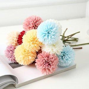 Декоративные цветы венки 1 шт. 29см Искусственный одуванчик цветок шелковый гиацинт свадебное украшение для домашней вечеринки эль садовые украшения