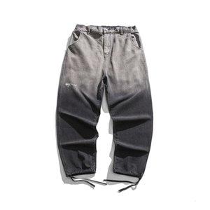 Xinchen 2021 jeans de primavera marca tube reto solto harlan calças casuais moda