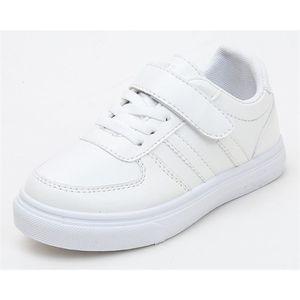Детские кроссовки белые девушки школьные туфли мальчики студенческие Обувь детские Часы Zapatos Unformed дешевый Sandq Baby New 2021 Q0113