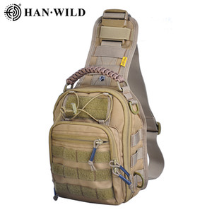 1050D Hiking Trekking Backpack Sports Climbing Shoulder Bags Tactical Camping Hunting Daypack Fishing Outdoor Military Shoulder Bag