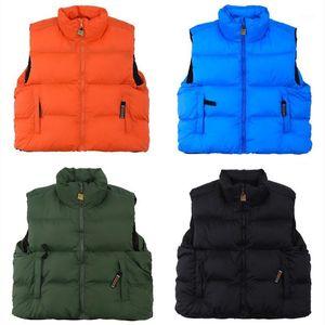 Sleeveless Kapital DOWN VEST WARM PUFFER JACKET Parkas Men Women Padded Zipper Coats Outerwear Clothes1