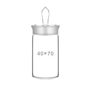 2Pcs Lot Flat Type Weighing Bottle 25 * 25 40*25 50*30 60*30 30*20mm Sealed Glass Bottle High Type Flat Glass Weighing Bottle