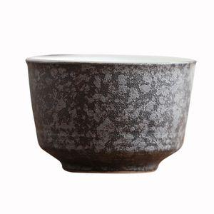 Black Crockery Ceramic Teacup Porcelain Tea Cup 50ml Porcelain Tea Set Warm Hand Cup Gift