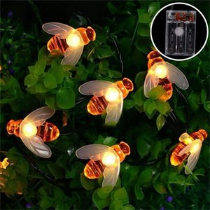 Quality Bee Light String Merry Christmas Decor for Home Navidad 2020 Ornaments Christmas Tree Decor Xmas Gifts Happy New Year 2021