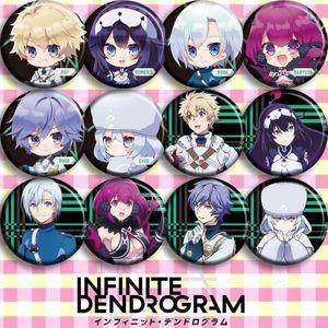 1pc 58mm Anime Dendrogram Ray Brooch Badges Pins1