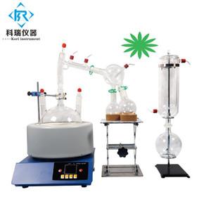 kit turnkey SPD-2L caminho curto destilação extração de etanol óleo essencial