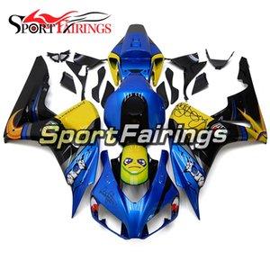 SportBike ABS-Verkleidungen für Honda CBR1000RR 2006 2007 CBR1000RR 2006 2007 Autocycle Injection Body Deckt Blue Shark Gelb hohe Qualität