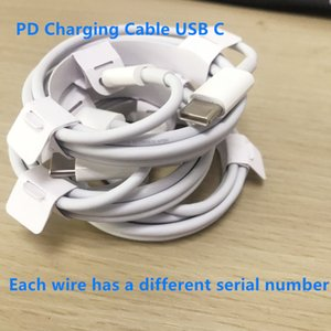 200pcs lot PD Charging Cable USB C For Phone 12mini 12 12pro 11Pro Max Data Cable Type C Quick Charge with Retail box For 20w 18w charger