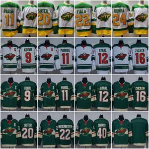 2021 обратная ретро хоккейное майки Minnesota Wild 9 Mikko Koiozu 11 Zach Priise 20 Ryan Suter Nino Niederreiter Matt Dumpa Kirill Kaprizov