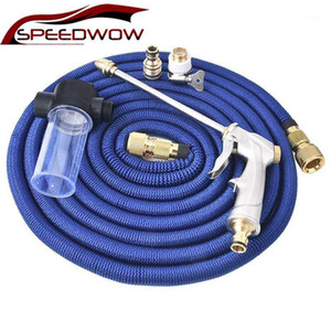 SPEEDWOW Nozzle Water Spray Gun Water Spray Adjustable High Pressure Power Washer For Plant Flower Household Cleaning Car Washer1