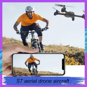 RC drone S7 aerial drone aircraft toys aerial photography remote control Quadcopter Optical flow with Dual cameras kids toy via ePacket