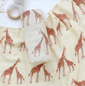 Muslin Bamboon Cotton Baby Swaddles Soft Baby Newborn Blankets Bath Gauze Infant Wrap Sleepsack Stroller Cover Play Mat 201022