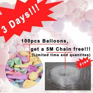 100pc lot 10 inch Macaron Latex balloons Wedding Birthday Decoration Globos Baby Shower Girl Birthday Party Pastel Balloons 1027